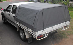 Ute Canopies for dual cab utes Colorado