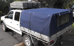 Ute Canopies for dual cab utes Bravo/Courier