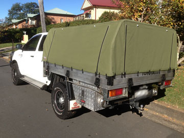 Canvas Canopy for Hilux
