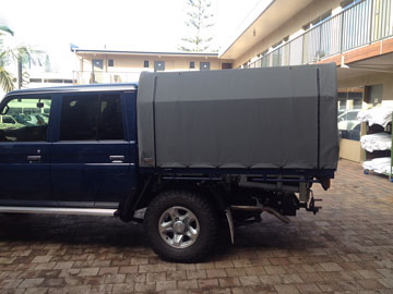 Landcruiser Canvas Cover