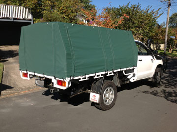 custom canopies for utes HiLux