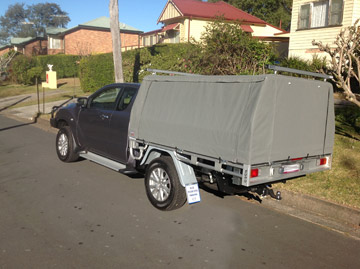 BT50 Ute Cover