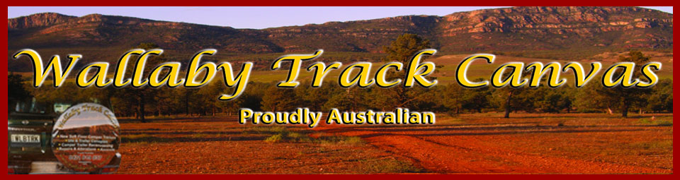 Wallaby Track Canvas